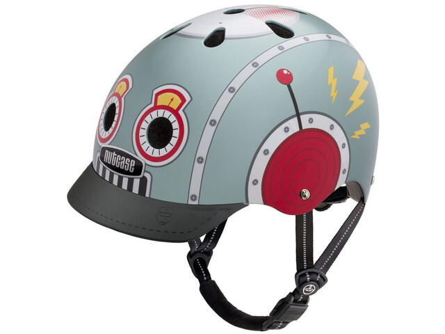 Nutcase Street Helm Kinder tin robot